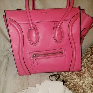 celine pink fluo mini 2012
